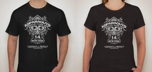 Asparaguys Concert Shirts